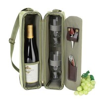 Sunset Wine carrier | Hamptons Green