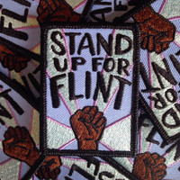Stand Up For Flint Fundraiser Patch