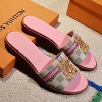 Louis Vuitton Lv Women Fashion Slipper Sandals Shoes