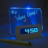 Alarm Clock with LED Message Board [8295368839]