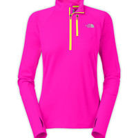 The North Face Women's Shirts & Tops Running/Training/Yoga WOMEN'S IMPULSE ACTIVE 1/4 ZIP
