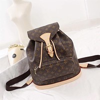 LV Louis Vuitton WOMEN'S MONOGRAM CANVAS LARGE BACKPACK BAG