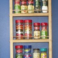 """On the Wall Spice Rack Size: 48"""""""
