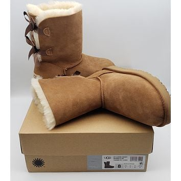 Womens Shoes UGG BAILEY BOW II Boot  8M
