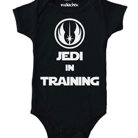 Jedi in Training Baby Onesuit