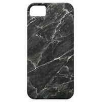 Black Marble iPhone 5 Cover
