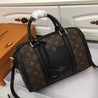 popular LV Louis Vuitton Women Leather monnogam Handbag Crossbody bags Shouldbag Bumbag