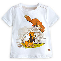 Tod and Copper Tee for Baby - The Fox and the Hound