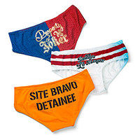 Suicide Squad Harley Quinn 3-Pack Panties - Exclusive