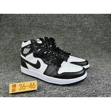 NIKE Air Jordan 1 cheap Men's and women's nike shoes