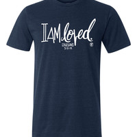 I Am Loved Vintage Jersey Tee