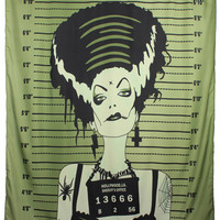 Bride Shower Curtain by Too Fast Clothing - SALE