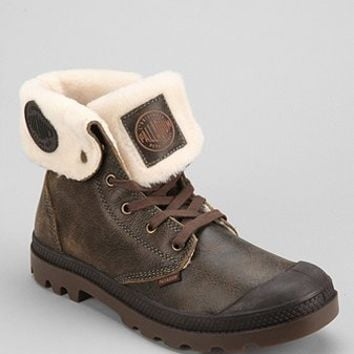 Palladium Baggy Sherpa-Lined Leather Boot - Urban Outfitters