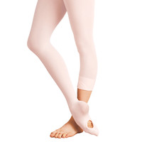 Adult Total Stretch Convertible Tights (Jazzy Tan) A31