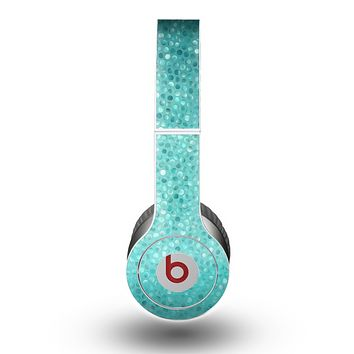 The Turquoise Mosaic Tiled Skin for the Beats by Dre Original Solo-Solo HD Headphones