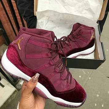 Nike Air Jordan 11 breathable men's and women's lightweight sports basketball shoes
