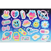 GALAXY STICKER SHEET