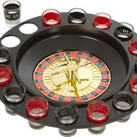 Shot Glass Roulette - Drinking Game Set (2 Balls and 16 Glasses):Amazon:Kitchen & Dining