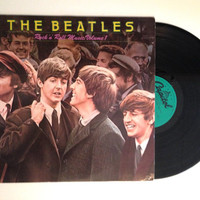 Vinyl LP The Beatles Rock N Roll Music Vol 1 Album Record 1980 Twist And Shout
