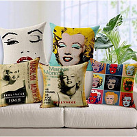 Film Starlet Throw Pillow