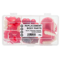 Replacement Body Parts Box Of Sweets
