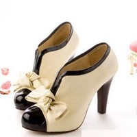 Emsal 2012 Elegant and Sexy Style Bowknot Embellished High-H