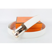 Hermes belt men's and women's casual casual style H letter fashion belt67