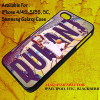 Kevin Durant Dunk - iPhone 4 4S 5 5S 5C iPod Case, Samsung Galaxy S2 S3 S4 S5 Mini Note, HTC, Blackberry Case Phone Cover