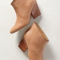 Nicki Scalloped Booties by Sigerson Morrison Neutral 6 Boots