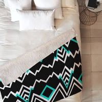 Elisabeth Fredriksson Wicked Valley Pattern 2 Fleece Throw Blanket
