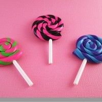 American Girl Doll Jumbo Swirl Lollipop by Katie's Craftations