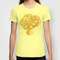 Sunny Valentine Hearty Weather T-shirt by Sandy Moulder