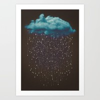 Let It Fall Art Print by soaring anchor designs