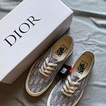 DIOR x Vans Atwood Low Canvas Sneaker