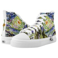 Watercolor Artsy Art Sneakers Printed Shoes