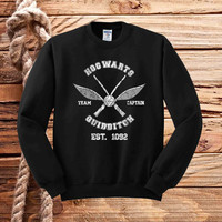 hogwarts quidditch captain sweater unisex adults