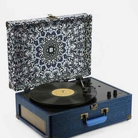 Crosley X UO AV Room Portable USB Vinyl Record Player- Blue One