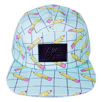 No. 2 Pencil 5 Panel Hat