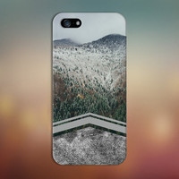 Geometric Winter Storm x Mountain Forest Phone Case for iPhone 6 6 Plus iPhone 5 5s 5c 4 4s Samsung Galaxy s6 s5 s4 & s3 and Note 5 4 3 2