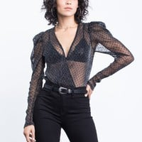 Party Time Sheer Bodysuit
