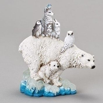 Roman Northern Ice Polar Animals Pile Figurine-633273
