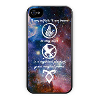Divergent, Mortal Instrument, And Hunger Game iPhone 4/4S Case