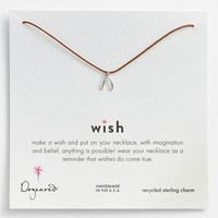 Dogeared 'Wish' Charm Necklace | Nordstrom