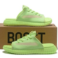 adidas Yeezy 350 V2 Sandals Slippers Sliders Summer Shoes Flip Flop - Best Deal Online