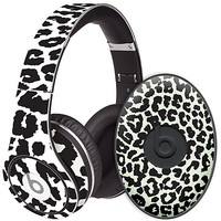 Black and White Leopard Skin  for the Beats Studio Headphones & Case by skinzy.com