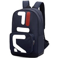 Fila Fashion Edgy Simple School Backpack Travel Bag