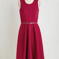 Long Sleeveless A-line Cosmopolite and Proper Dress by Closet London from ModCloth