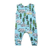 Pudcoco 2017 Toddler Infant Baby Boy Girl Sleeveless Romper Anime Jumpsuit Car Clothes Cute Novelty Outfits 0-24M