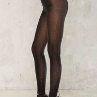 Walk in the Spark Lurex Tights