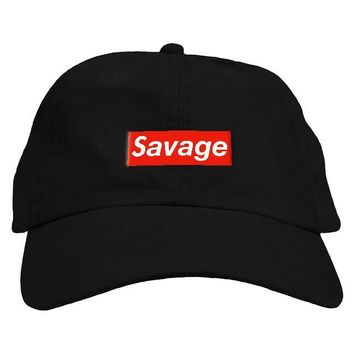 Savage Box Dad Hat